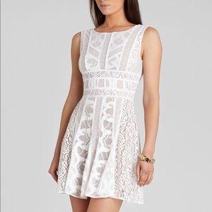 BCBG Kelley Dress White